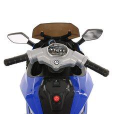 Электромотоцикл PITUSO HLX2018/2 Blue/ Синий колеса надув.12V/7Ah*1