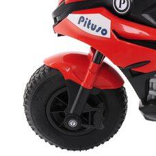 Электромотоцикл PITUSO HLX2018/2 Red/ Красный колеса надув.12V/7Ah*1