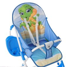 Детский стул для кормления с перекидной столешницей ДРАКОША BAMBOLA