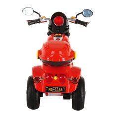 Электро-Мотоцикл PITUSO MD-1188 Red/ Красно-Черный 6V/4Ah*1 колеса пластик