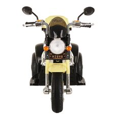 Электро-Мотоцикл PITUSO MD-1188 Black-beige/Черно-Бежевый 6V/4Ah*1 колеса пластик